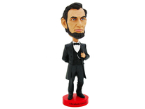 Abraham Lincoln Bobblehead - Royal Bobbles