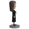 Female Graduate in Black Gown Bobblehead