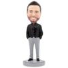 Business Casual Male C - Premium Figure Bobblehead