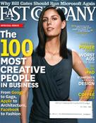 Fast Company Magazine - Winston Churchill bobblehead