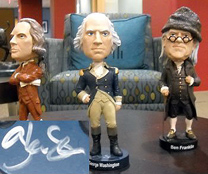 The Glenn Beck Show - Founding Fathers Bobblehead Collection
