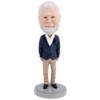 Senior Male - Premium Figure Bobblehead