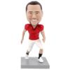 Male Football Player - Premium Figure Bobblehead