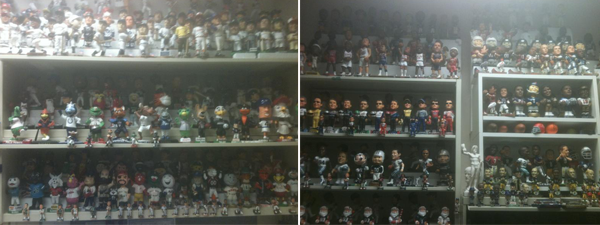 Ken Ellinger Bobblehead Collection 1