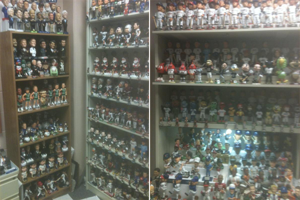 Ken Ellinger Bobblehead Collection 2