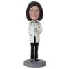 Female Doctor In Pants - Premium Figure Bobblehead