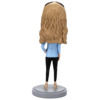 Casual Female in Jeans Bobblehead