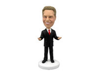 Male Occupation Speaker Bobblehead - Bobbleheads.com