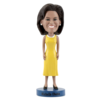Michelle Obama Bobblehead ** Limited Edition-Yellow Dress Version **