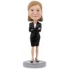 Female Executive - Premium Figure Bobblehead