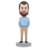 Business Casual Male A - Premium Figure Bobblehead