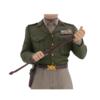 General George Patton v2 Bobblehead