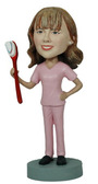 Dental Hygenist Bobblehead - Bobbleheads.com