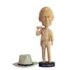 John Wayne Bobblehead Unpainted Test Piece - Rare