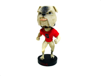University of Georgia UGA Bulldog Bobblehead  - Royal Bobbles