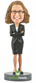 Female Executive - Premium Figure - Bobbleheads.com