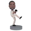 Left Handed Baseball Pitcher - Premium Figure Bobblehead