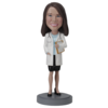 Female Doctor In Skirt - Premium Figure Bobblehead
