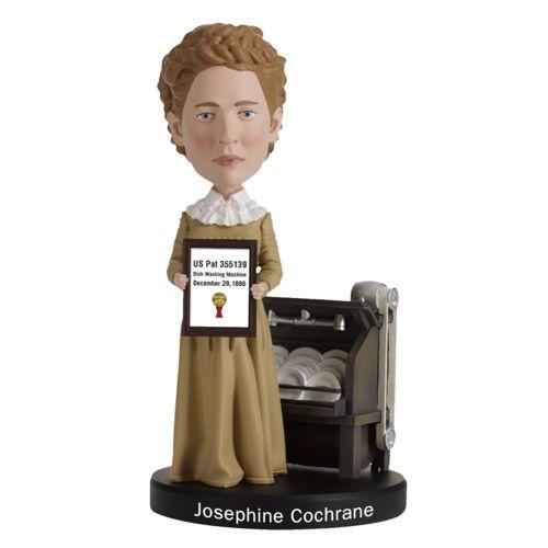Photo of Josephine Cochrane Bobblehead