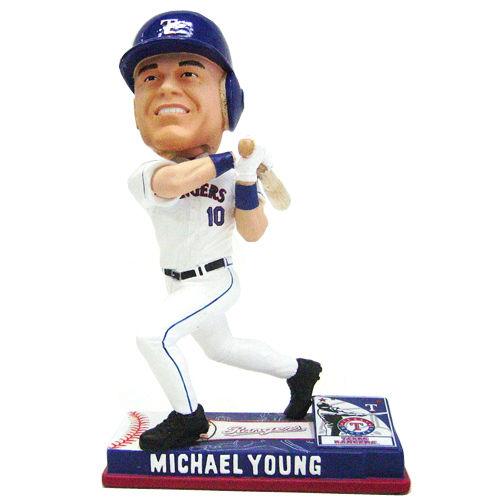 Photo 1 of Michael Young Bobblehead - Texas Rangers 2008