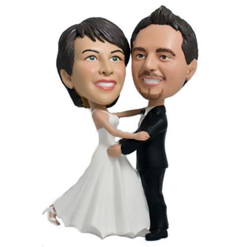 Photo of Bride and Groom First Dance Bobblehead