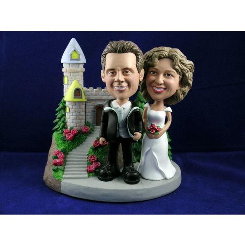 Bobblehead-classic-wedding-pose