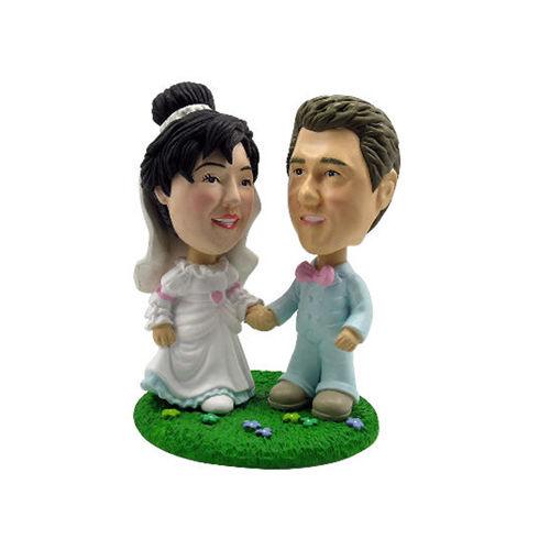 Photo 1 of Newlywed Couple Bobblehead