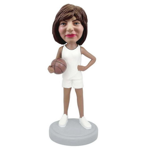 Photo 1 of Female Basketball Player Bobblehead