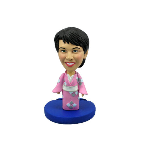 Photo 1 of Woman In Kimono Dress Bobblehead