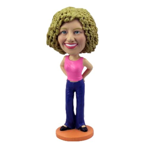 Photo of Casual Woman Bobblehead