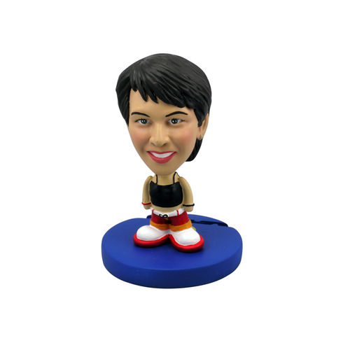Photo 1 of Female In Black Shirt and Red Pants Bobblehead