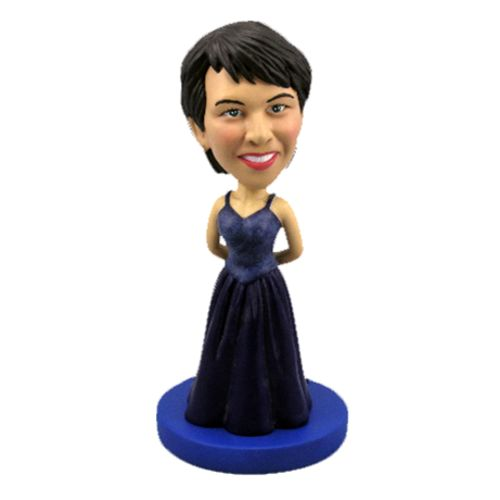 Photo of Woman In Evening Dress Bobblehead