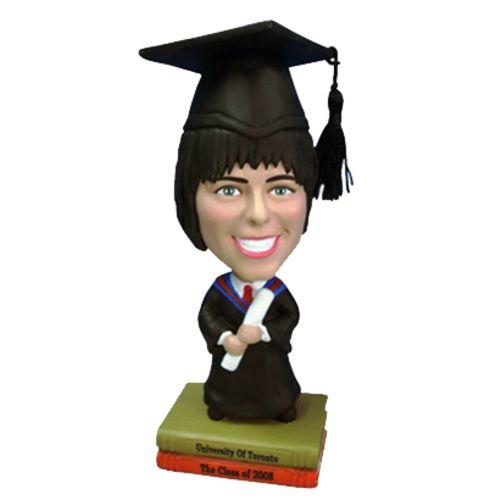 Photo 1 of Female Graduate Bobblehead