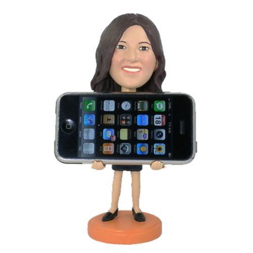 Photo 1 of Phone Holder Female Bobblehead