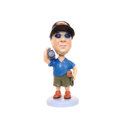 Photo of Videographer With Camera Bobblehead