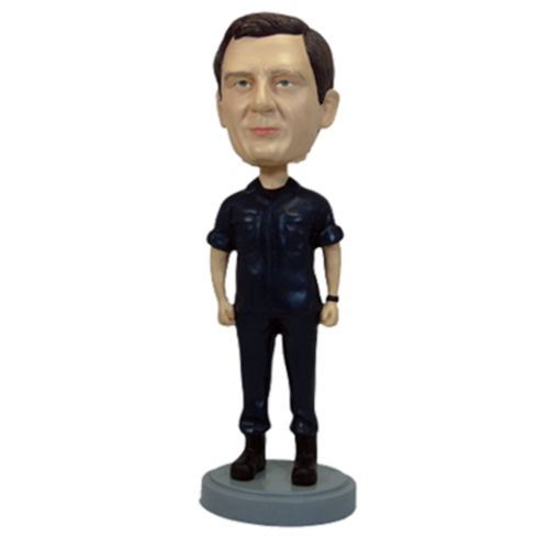 Photo 1 of Military Male Soldier In His Basic Dress Uniform Bobblehead