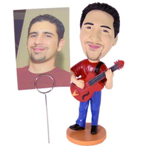 Photo of Guitar Player Bobblehead