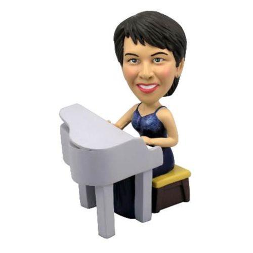 Photo of Female Pianist Bobblehead