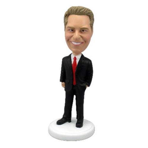Photo of Male Executive In Power Suit Bobblehead