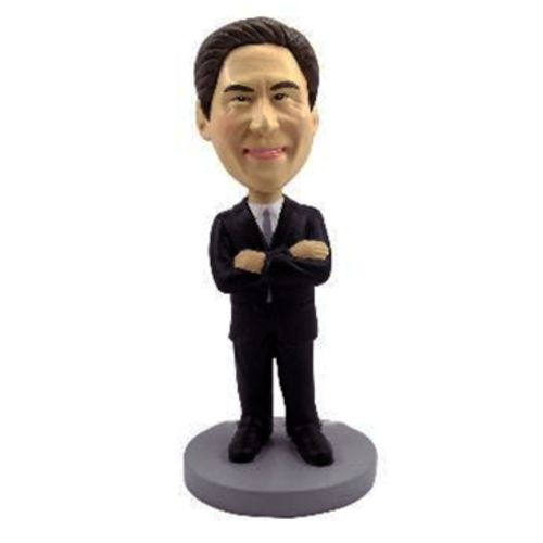 Photo of Male Executive With Arms Crossed Bobblehead