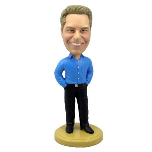 Photo of Man Dressed In Business Casual Bobblehead