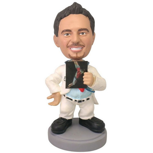Photo 1 of Doctor Holding X-ray Bobblehead