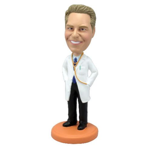 Photo 1 of Doctor with Lab Coat Bobblehead