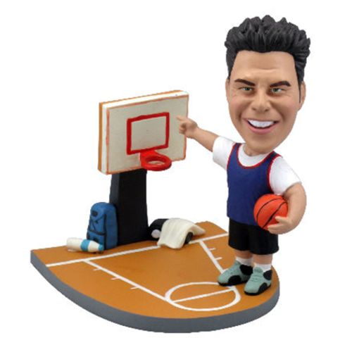 Photo 1 of Basketball Player On the Court Bobblehead