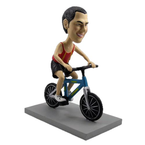 Photo 1 of Bicyclist Bobblehead