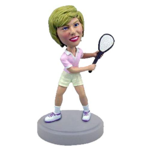 Photo of Female Tennis Player Bobblehead