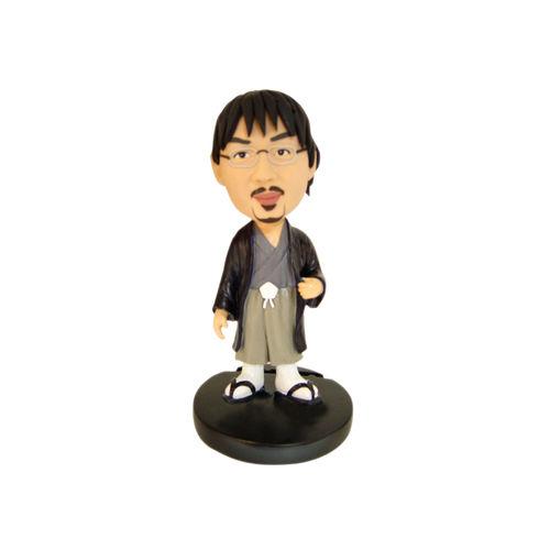Photo 1 of Man In Japanese Attire Bobblehead