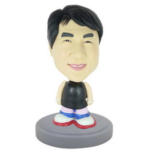 Photo 1 of Male In Tank Top and Sneakers Bobblehead