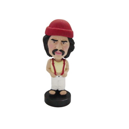 Photo 1 of Man In Tank Top With Overalls Bobblehead