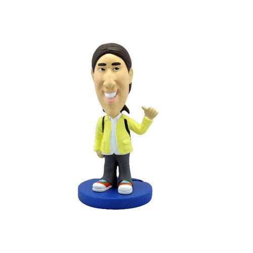 Photo 1 of Man In Yellow Jacket With Thumbs Up Bobblehead
